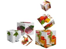 Free Cubes With Images Stock Photos - 19593333