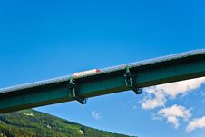 Free Europe Bridge At Brenner Highway Stock Photos - 19593983
