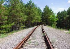 Free Abandoned Railway Line Stock Image - 19596021