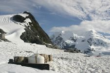 Free Landscape In Antarctica, Abandoned Waste Stock Photo - 19596180
