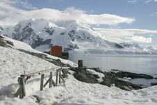 Free Landscape In Antarctica Royalty Free Stock Images - 19596239