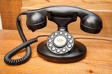 Free Antique Phone Stock Image - 19596351