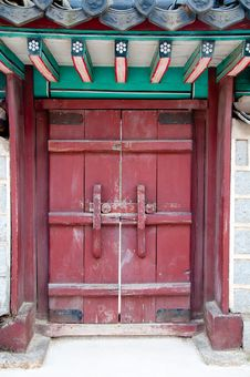 Free Chinese Door Stock Images - 19596564