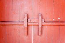 Chinese Door Stock Image