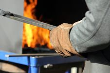 Free Hot Iron Forge Stock Photo - 19596860