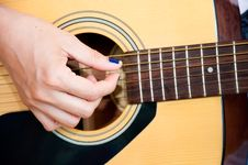 Free Guitar Fingers Stock Images - 19597054
