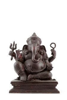 Free Elephant-headed God Statue Stock Images - 19597124