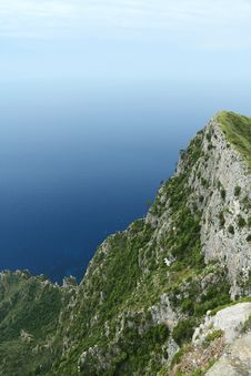 Free Cliffs Of Capri Stock Image - 19597311