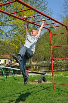 Free On The Playground Stock Photography - 19597442