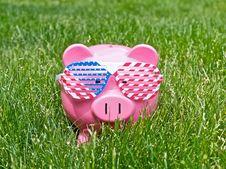 American Piggybank Stock Photography
