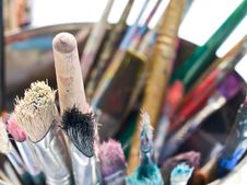Free Brushes Royalty Free Stock Image - 19597566