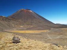 Mount Ngauruhoe Stock Images