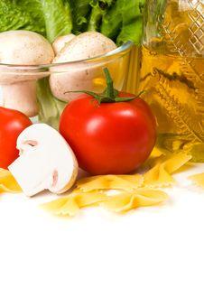 Free Pasta Ingredients Stock Image - 19599001