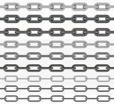 Free Set Of Chains. Stock Image - 19599681