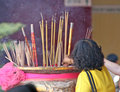 Free Burning Incense Stock Image - 1967541