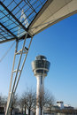 Free Airport Roof With Control Tower Stock Photography - 1968302