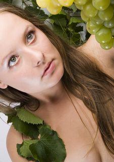 Free Beautiful Green Grape Stock Photos - 1961963