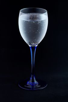 Free Glass With Mineral Water Stock Image - 1962261