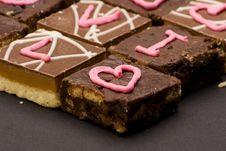 Free I Love You Chocolates Stock Photo - 1962280