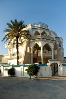 Free Arabic House At Sunrise, Portrait Stock Image - 1962331