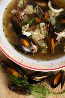 Free Seafood Soup Stock Image - 1962741