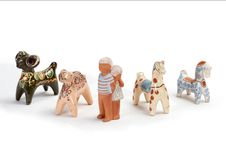 Free Clay Toys 2 Stock Photo - 1963610