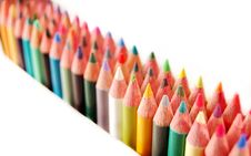 Free Colored Pencils Royalty Free Stock Photo - 1964695