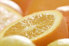 Free Slices Of Orange Stock Photo - 1965210