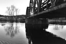 Free Bridge Over Water Stock Photography - 1965382