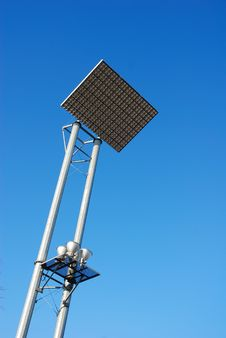 Free Parking Lot Floodlight Stock Photo - 1966340