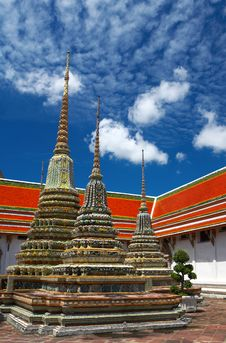 Free Triple Pagoda Royalty Free Stock Image - 1966586