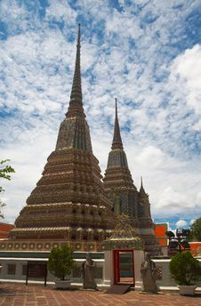 Free Three Pagoda Stock Image - 1966721