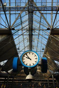 Free Train-station Clock Stock Photos - 1967823