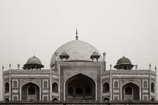 Free Humayun S Tomb Royalty Free Stock Photography - 1968077