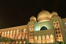 Free Putrajaya Palace Of Justice Royalty Free Stock Photos - 1968158