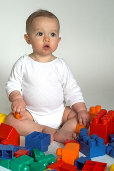 Free Baby Blocks Stock Image - 1968161