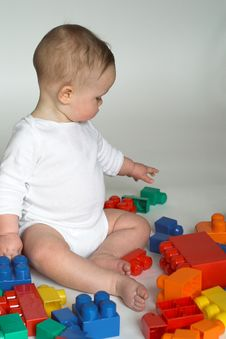 Free Baby Blocks Stock Photography - 1968202