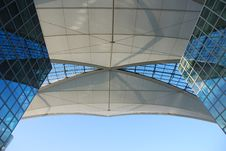 Free Roof Airport Building Royalty Free Stock Photography - 1968247