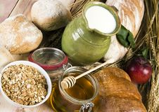 Free Bread Mix Stock Photography - 1968402