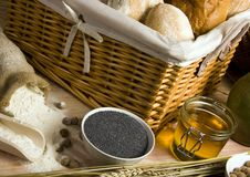 Bread Mix Royalty Free Stock Photography