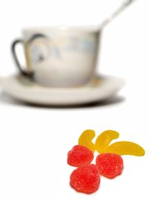 Free Cup And Sweets1 Stock Photo - 1969030