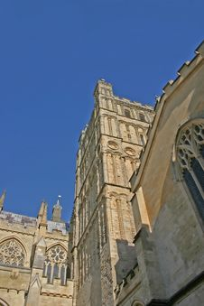 Free Exeter Cathedral In Summer Stock Image - 1969871