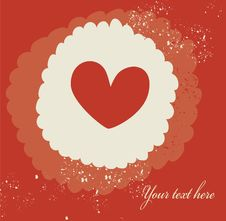 Free Grunge Heart Stock Image - 19600931