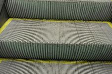 Free Escalator Detail Stock Photography - 19601752