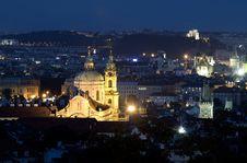 Free Prague At Night Stock Image - 19601811