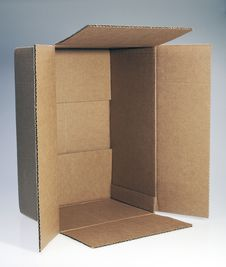Free Cardboard Box Royalty Free Stock Images - 19601899