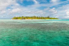 Free Island On The Maldives Royalty Free Stock Photography - 19602367