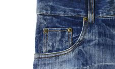 Free Jeans Pocket Stock Photography - 19602562
