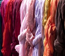 Free Colored Fabric Stock Images - 19602694