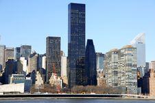 Free NYC - View To Manhattan Royalty Free Stock Photos - 19602938
